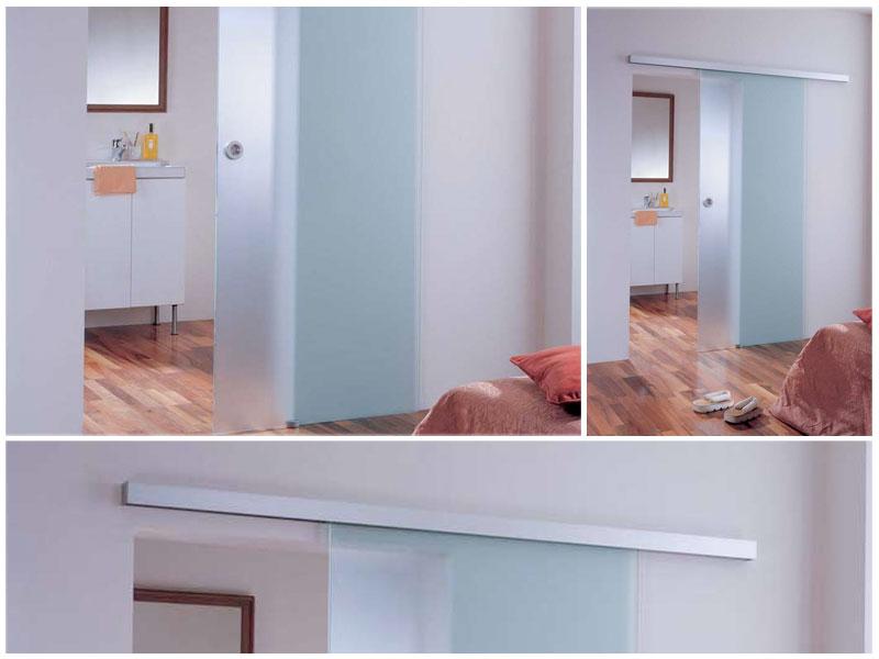 Glazen Schuifdeur Badkamer : Glazen binnendeuren in gent binnenschrijnwerker verhoeven