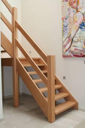 1. Beuken Bordestrap,leuning Met 2 Parallelle Planken