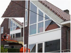 53. aluminium ramen van Reynaers met hoogrendementsglas 4 seizoenen
