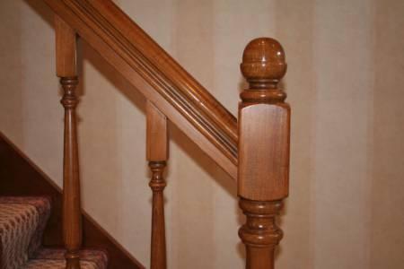 8. Klassieke Draaistijl Eik, Detail