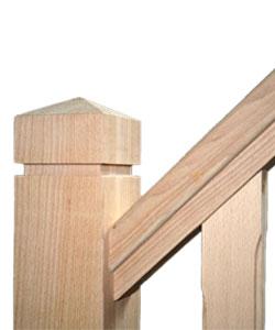 Houten trappen op maat gemaakt in regio Gent